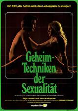 Geheimtechniken der Sexualität ORIGINAL A1 Kinoplakat Robert Furch