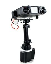 New Cup Holder Mount With Variable Height With Mic Holder For QYT KT-8900