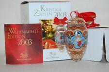 Weihnachtszapfen 2003 03 OVP Zert Hutschenreuther