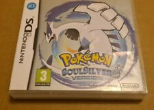 POKEMON SOUL SILVER NINTENDO DS EMPTY BOX ONLY AUTHENTIC GENUINE (NO GAME CART)