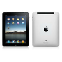Apple iPad 1- 32GB, Wi-Fi + 3G (AT&T), 9.7in - Black Very Good Condition