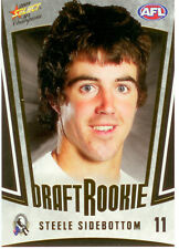 2009 Select AFL Champions Draft Rookie Card DR11 Steele Sidebottom (Collingwood)