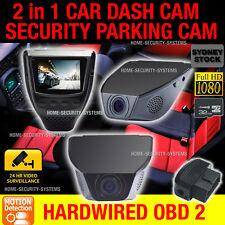Dash Camera In Car Accident Backup 1080P Hardwired Parking Mode Time Lapse Crash