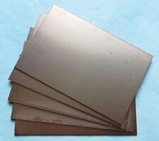 5 Single Side Copper Sheet Plate Guillotine Cut Bakelite Copper Clad PCB 10x15cm