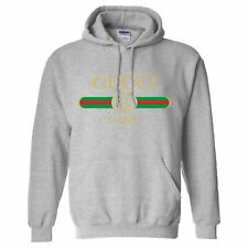 KIDS LIL PUMP SONG GUCCI GANG MENS HOODIE SIZE XL COLOUR SPORTS GREY TOP