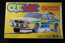 YQ085 HELLER 1/32 maquette cliclac voiture 2034 Audi Quattro Africa Rallye
