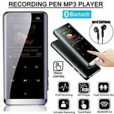 Portable Bluetooth MP3 MP4 Player Lossless Music Touch Key HiFi Media Radio FM