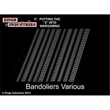 Zinge Industries Flexible Bandolier Strips X 10 Various Conversion Bits S-DEC03