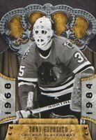 2011-12 Crown Royale Hockey #108 Tony Esposito Chicago Blackhawks