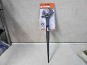 """New Crescent Adjustable Spud Wrench 16"""" Hand Tool 1-1/2"""" Jaw Opening AT215SPUD"""
