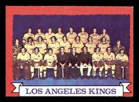 LOS ANGELES KINGS TEAM 73-74 O-PEE-CHEE 1973-74 NO 98 EX+  18927