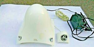 JBL CREATURE White SPEAKER AND SUBWOOFER DWC-R2 PC MULTIMEDIA SPEAKER SYSTEM