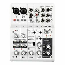 New YAMAHA 6Channel Web Casting Mixer 2Channel USB Audio Interface AG06