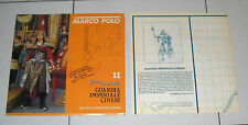 MARCO POLO Cartamodello 11 GUARDIA IMPERIALE CINESE 1982 Serie Rai Tv Costume