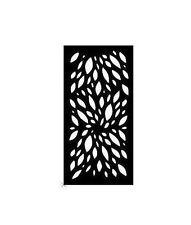 Decorative Garden Metal Screen 'FAUNA' Laser cut 1800x900 Corten Steel