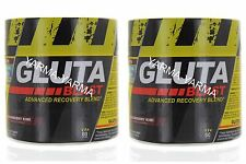 2 Pack Glutamine Blend Gluta-Blast - Strawberry Kiwi 120 Servings Recovery Blend
