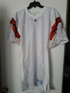 Cincinnati Bengals Vintage 1990s NFL White Blank Jersey Authentic Champion XL