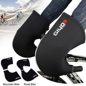 Bike Handlebar Mitts Cycling Gloves Windproof MTB Road Hand Warmer Cover Mitten
