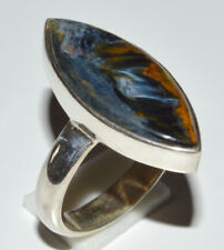 Pietersite 925 Sterling Silver Ring Jewelry s.6 JJ11757