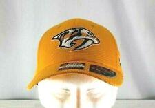 Nashville Predators Yellow  Baseball Cap Stretch Fit L/XL