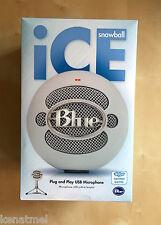 Blue Microphones Snowball iCE Cardioid Condenser Microphone, Skype, Podcast,BNIB