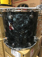 DW Drum Workshop Performance 16x18 Black Diamond Pearl Floor Tom