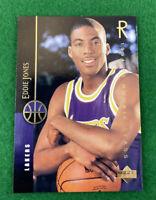 1994 Upper Deck Eddie Jones Basketball Card #166 LA Lakers Rookie