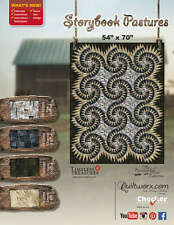 STORYBOOK PASTURES QUILTING PATTERN, Foundation Paper Piecing From Quiltworx NEW