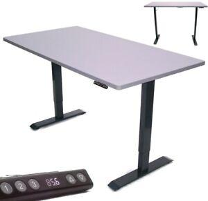 Elektrisch höhenverstellbar Schreibtisch Tischgestell Gestell Arbeitstisch Tisch