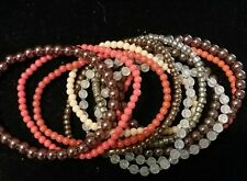 Avon Mark In The Mix Bracelets 11 Seperate Bracelets Fits Small - Avagage New