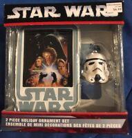 Kurt S. Adler 2006 Star Wars Storm Trooper Revenge of Sith Ornament Set (box 52)