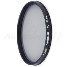Zomei 77mm CIR-PL CPL Filter for Canon Nikon Sony Circular Polarizing Polarizer