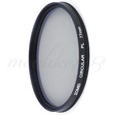 Zomei 77mm CIR-PL CPL Filter for Canon Nikon Sony Circular Polarizing Polarizer