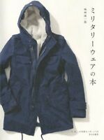 Men's Military Jacket Wear Pattern Book Free Shipping with Tracking# New Japan