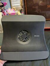 Belkin Laptop Cooling Stand Model #F5L001 Computer Black Temperature Control