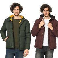 Mens Puffer Jacket Jack and Jones Hooded Designer Winter Coat