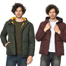 Mens Puffer Jacket Jack and Jones Hooded Designer Winter Coat