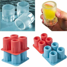 ICE SHOT GLASS Tray Mould Birthday Christmas Wedding Party Drinking Fun Gift