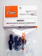 Team Magic M8ER Shock Ball End Spring Bouchon & Hardware Lot de 2 560321