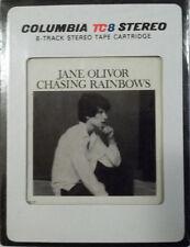 8 TRACK  JANE OLIVOR  Chasing Rainbows  Brand New   Factory Sealed  RARE