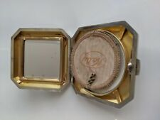 Art deco solid silver compact