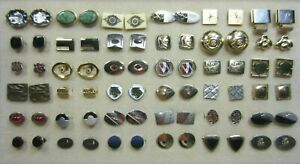 Vintage Collection of 36 Pairs of Gold Plated Cuff Links # 3 of 3