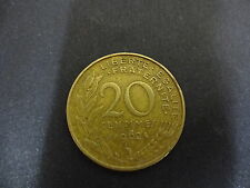 France - 1962 20 Centimes Coin