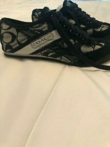 COACH New York Tennis Shoes Size 6