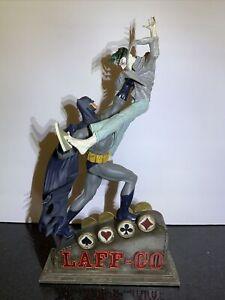 Batman vs Joker Classic Confrontations Statue DC Direct 109 of 1600 DC COMICS