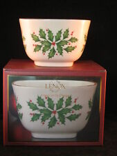 """Lenox Holiday Christmas Archive 4.25"""" Nut Bowl - New in Box"""