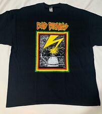 Bad Brains Band T-Shirt Rock Punk Metal Reggae Alternative