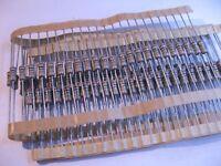 Philips Carbon Film 1/2 Watt Resistor 1000000 Ohm 1M 5% - NOS Qty 100