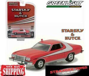 GREENLIGHT #44780-A 1/64 STARSKY AND HUTCH 1976 FORD GRAN TORINO TV David Soul