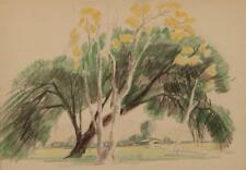 Sam Hyde Harris, (1889 - 1977 Alhambra, CA), Trees in a landscape, C... Lot 2018